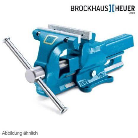 Heuer Schraubstock 140 mm mit wechselbaren Backen