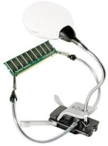 Bastellupe mit LED-Licht und Platine