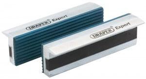 Schraubstock Schutzbacken aus Gummi von Draper mit 100 Milimeter Backenbreite.