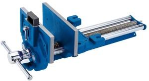 Blauer Tischlerschraubstock vonn Draper mit 22.8 cm Spannweite