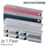 8-teiliges schutzbackenset von Brockhaus Heuer mit dn Typen P, G, N und F