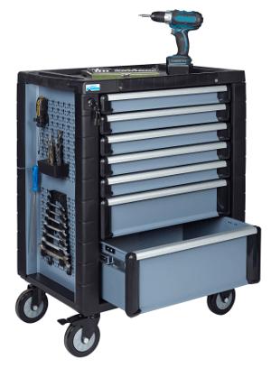 Küpper Werksttatwagen mit Werzeug und 7 Schubladen