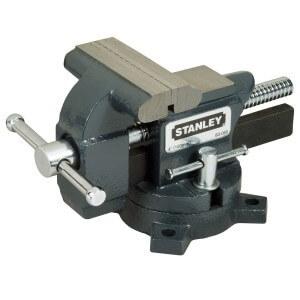Stanley Schraubstock aus Maxsteel in der leichten Ausführung mit 100 mm breiten Backen